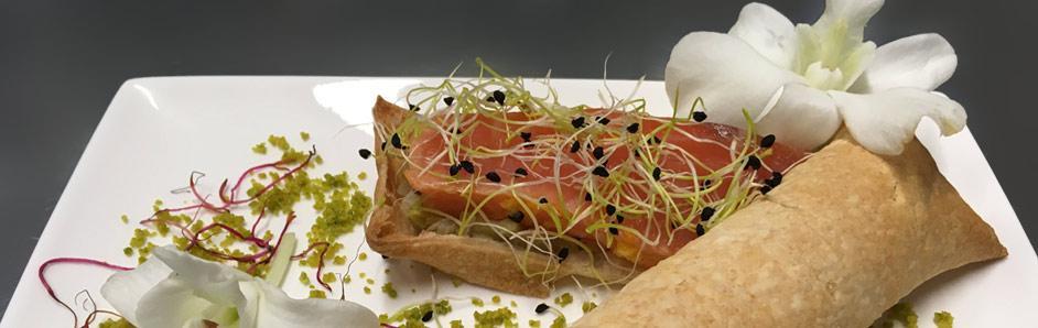 Millefeuille de saumon - traiteur de mariage
